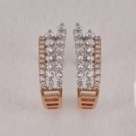 DIAMOND DAILY WEAR  EARRING