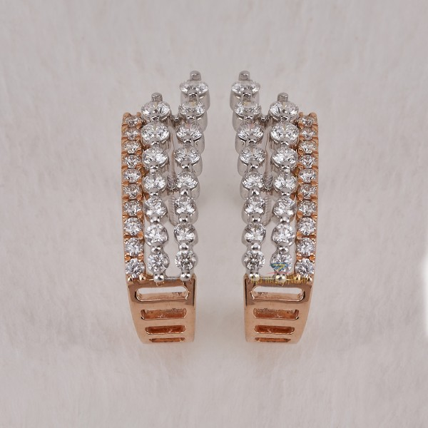 DIAMOND DAILY WEAR  EARRING