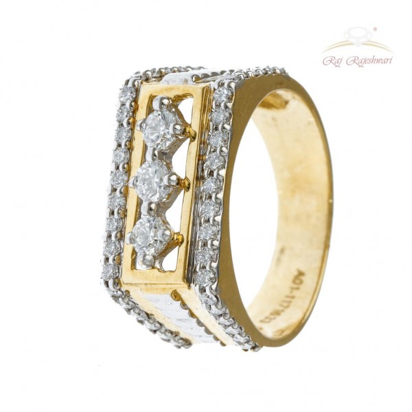 DIAMOND RING FOR MEN IN 18CT GOLD