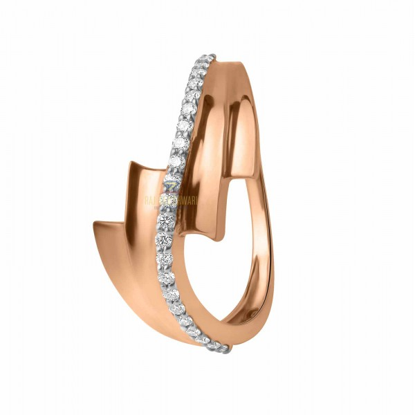DIAMOND  DAILY WEAR ROSE GOLD 18KT RING